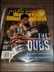 2017  Sports Illustrated Magazine Commemorative Issue Kevin Durant IP Autograph