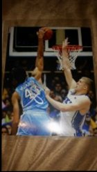 James Michael McAdoo 8x10 Photo IP Autograph