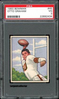 1950 Bowman  Otto Graham