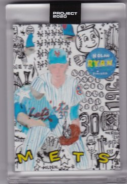 2020 Topps Project 2020 Nolan Ryan by Gregory Siff