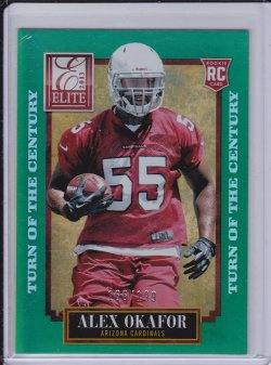 Alex Okafor 2013 Elite Turn of the Century RC /199