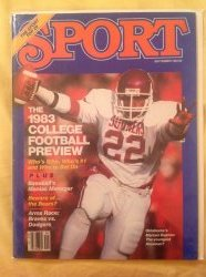 1983  Sport Magazine - September  Marcus Dupree