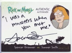 Rick and Morty SPENCER GRAMMAR (SUMMER SMITH)