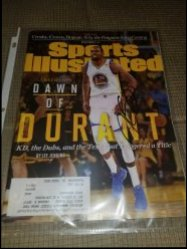 Kevin Durant Sports Illustrated Magazine IP Autograph