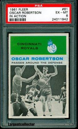 1961 Fleer In Action Oscar Robertson