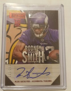 2013 Panini Playbook Rodney Smith