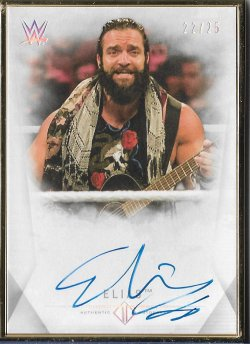 2019 Topps WWE Transcendent Collection Elias #ed 22/25