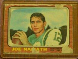 1966 Topps  Joe Namath