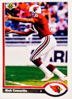 1991 Upper Deck  Rich Camarillo #205