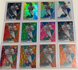 2020 Panini mosaic base and parallels Brunell