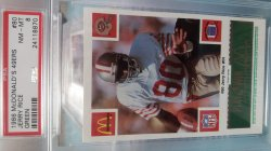 1986   McDonalds  Jerry Rice - - Green