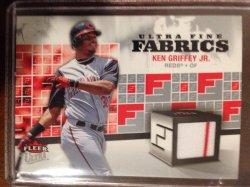 2006 Fleer ultra 2006 Ultra Fine Fabrics #KG Ken Griffey Jr. Jsy