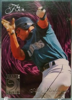 1994 Fleer Flair Alex Rodriguez wave of the future 2