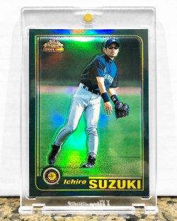 2001 Topps Chrome Ichiro Suzuki (Retrofractor)