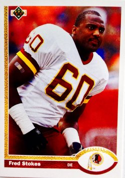 1991 Upper Deck  Fred Stokes
