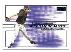 2000 Fleer Skybox Speed Merchants Randy Johnson