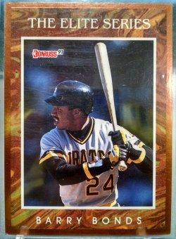 1991 Donruss  Barry Bonds elite series