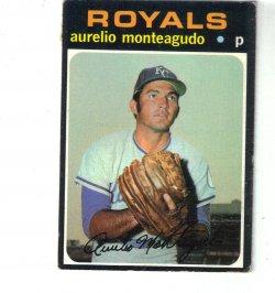1971 Topps Base Aurelio Monteagudo
