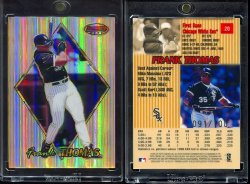 1999   Bowmans Best Atomic Refractor Frank Thomas