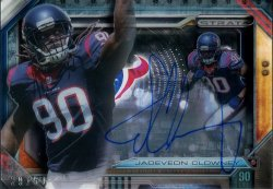 2014 Playoff Strata Shadowbox Jadeveon Clowney Auto