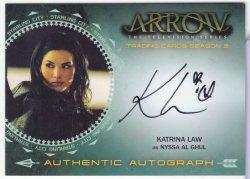 Arrow Season 2 KATRINA LAW (NYSSA AL GHUL)