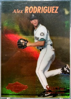 1995  Select Certified Alex Rodriguez mirror gold