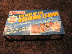 1990 Donruss Best of National League Complete Set