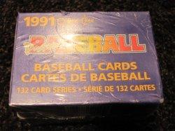 1991 O-Pee-Chee Premier Baseball Complete Set