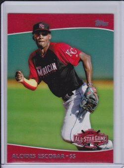 Alcides Escobar 2015 Topps Update All Star Access
