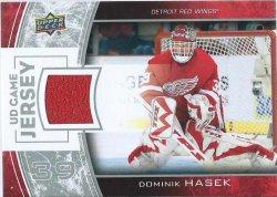 2013 Upper Deck Series one Dominik Hasek game jersey