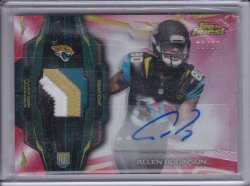 Allen Robinson 2014 Finest Rookie Patch Autographs Red Refractor /75