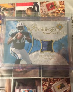 2006  Ultimate Collection Rookie Patch Vince Young
