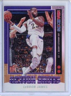 2019-20 Panini Hoops LeBron James Action Shots