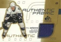 2001/02   SP Game Used Authentic Fabric Gold Selanne