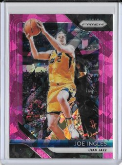 2018-19 Panini Prizm Joe Ingles Pink Ice
