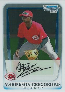 2011 Bowman Chrome Prospects  Didi Gregorious