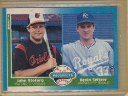 1987 Fleer Major League Prospect  Kevin Seitzer
