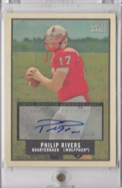 2009 Topps Magic Autographs Philip Rivers