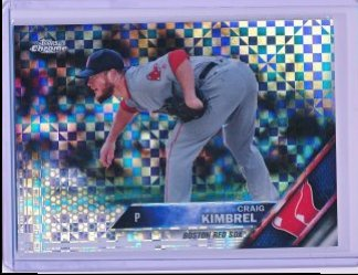 Craig Kimbrel 2016 Topps Chrome Holiday Mega Box Xfractor /99