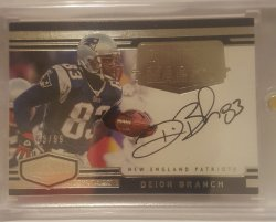 2016 Panini Plates & Patches Deion Branch