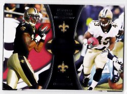 2012 Topps Paramount Pairs Marques Colston / Darren Sproles