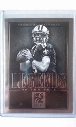 2014 Panini Elite Legends Of The Fall Drew Brees