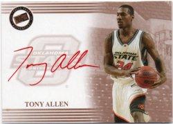 2004 Press Pass  Allen, Tony - Autographs Red