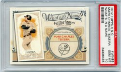 2012 Topps Allen & Ginter Mark Teixeira Whats in a Name