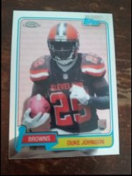 2015 Topps Chrome Duke Johnson