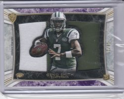 2013 Topps Supreme Rookie Relics Die Cut Purple Geno Smith