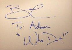 Brandin Cooks Signed Card