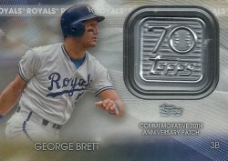 2021 Topps 70th Anniversary Logo Patch