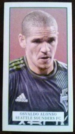 2013 Topps MLS Minis Set Osvaldo Alonso