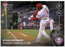 2016 Topps Now Ryan Howard